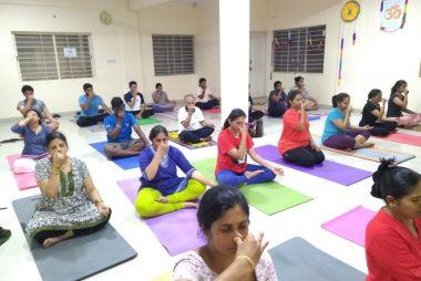 Regular Yoga Sessions
